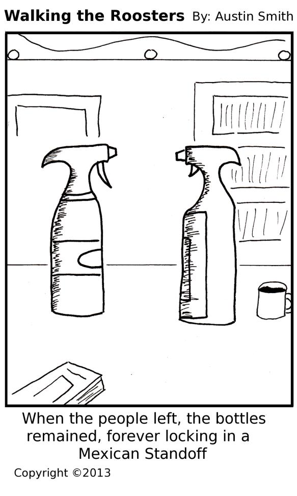 bottle standoff