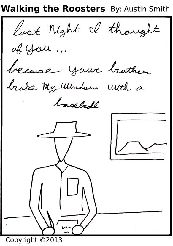 love(?) letter