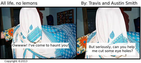 seeing a ghost