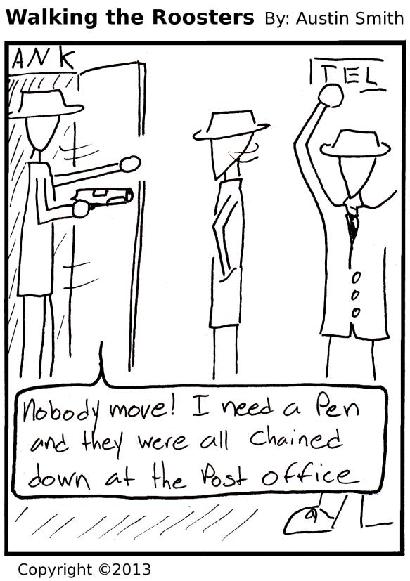 Pen Robber