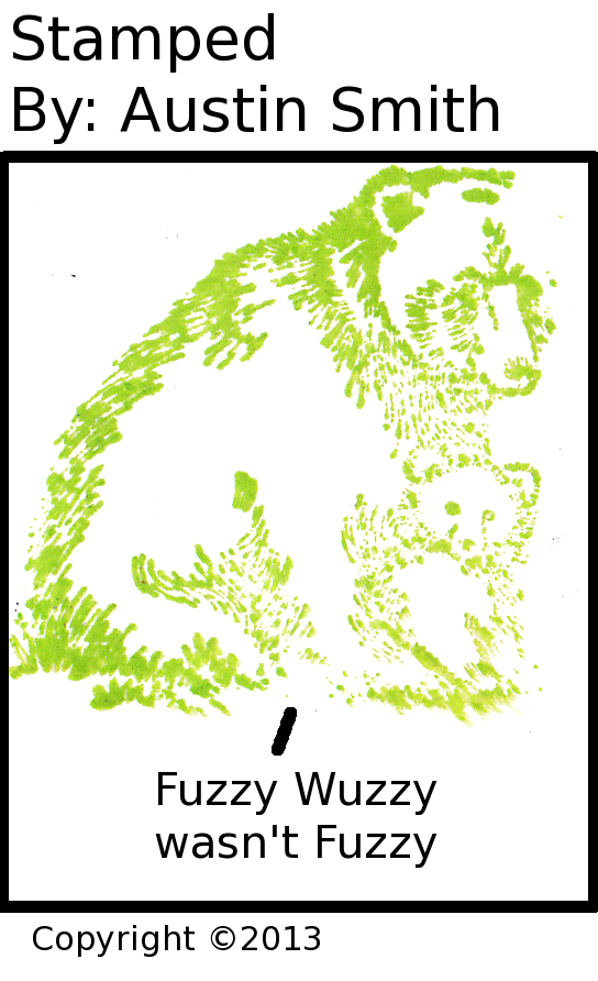 wuz he fuzzy?