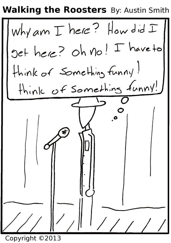 unwilling comedian