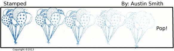 faded balloon