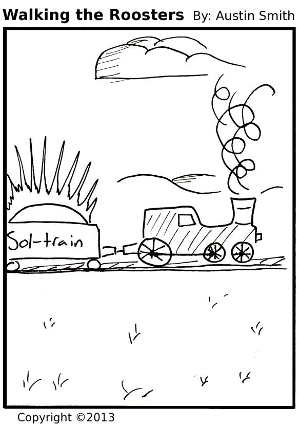train of sun
