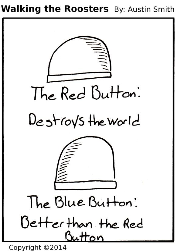 pushing button