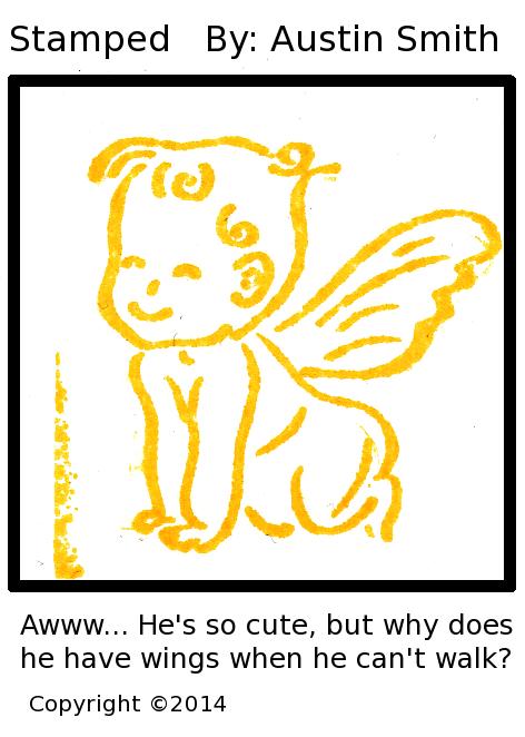 little winged man