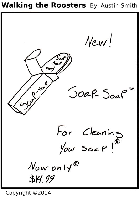 soap advert