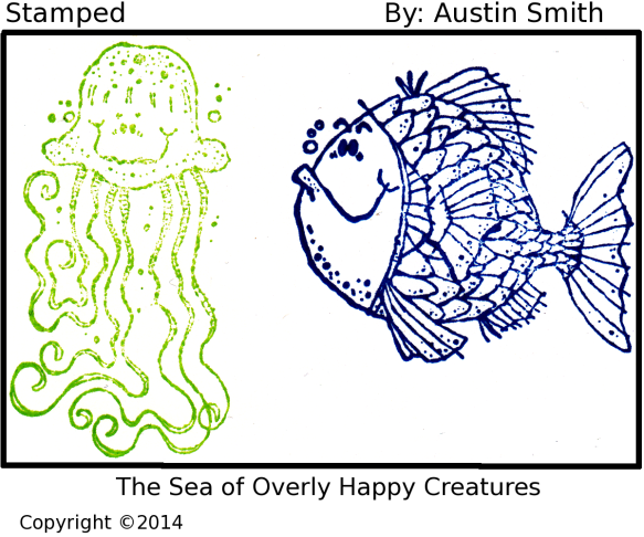 smiling sea craetures