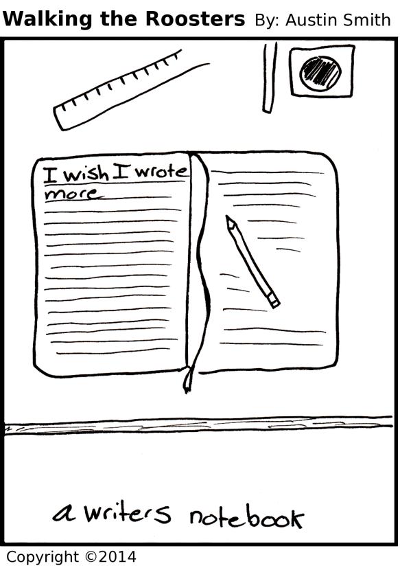 writer write