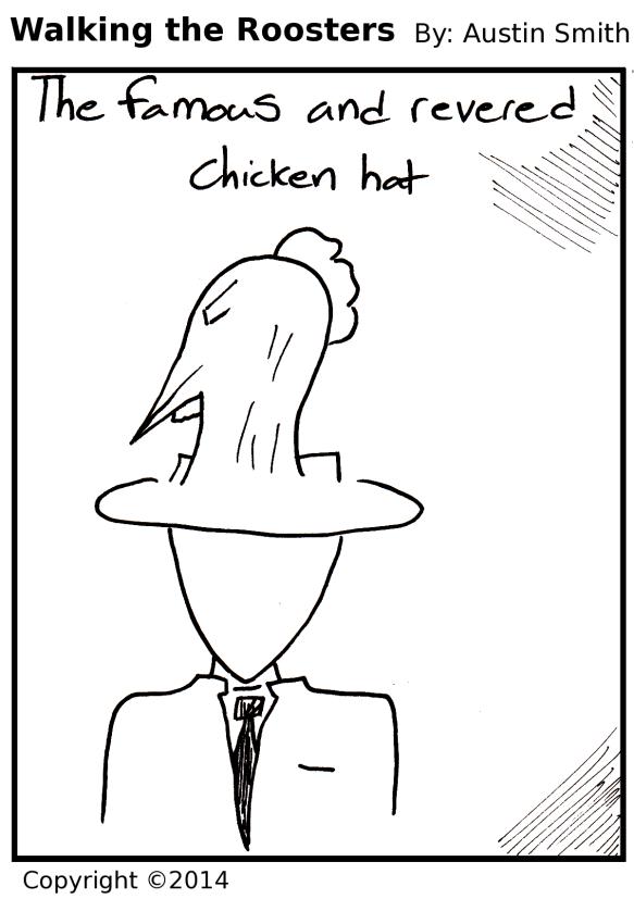 hat of bird
