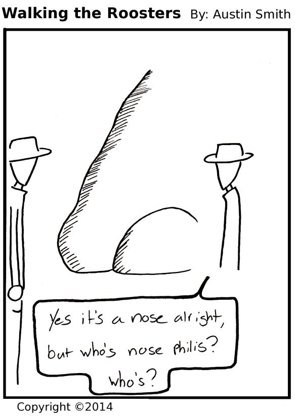 large nose