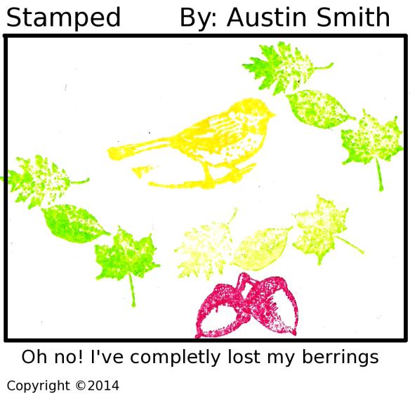 stamped bird berrings