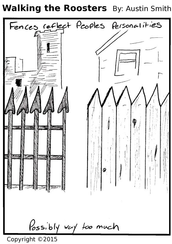 fence talk