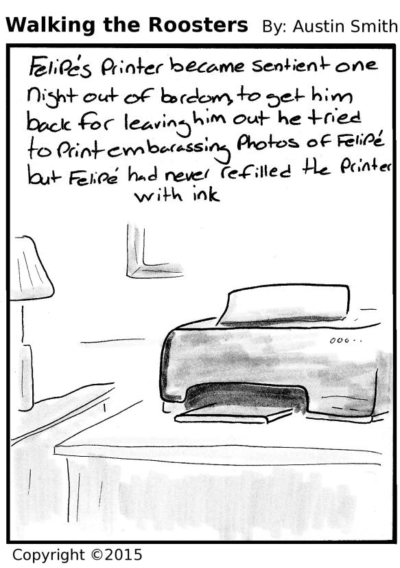 night of the printer