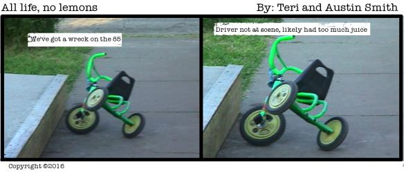 trike crash